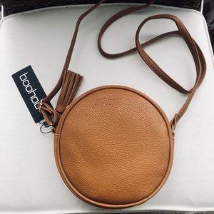Boohoo Round Cross Body Bag